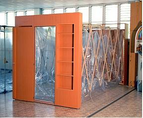 Expandable Cabinet Shelter